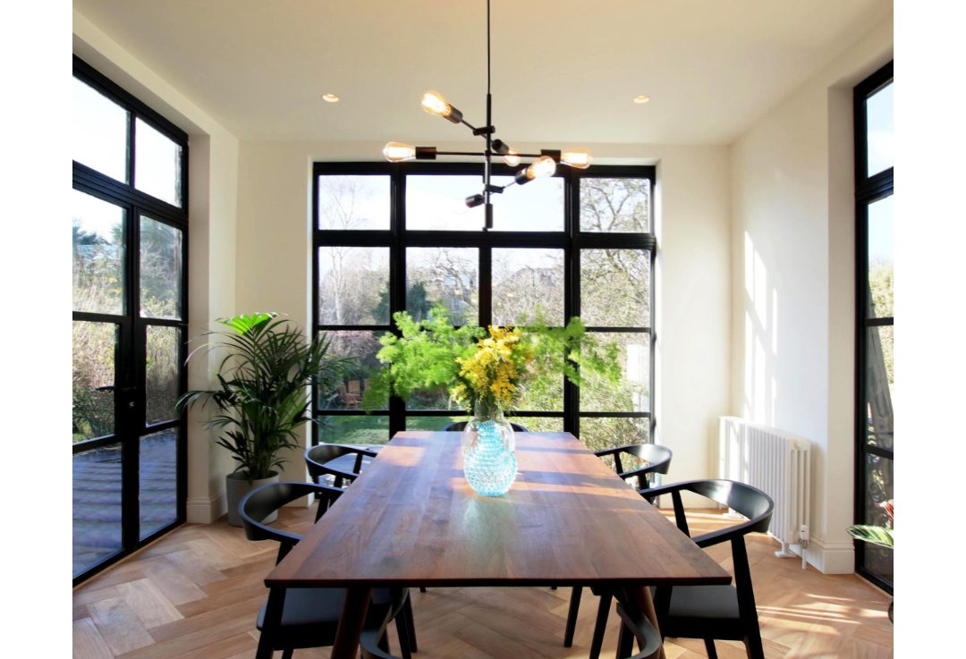 Hatch + Mason project dining room extension
